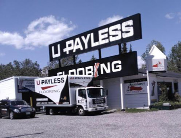 U Pay Less Flooring Storefront